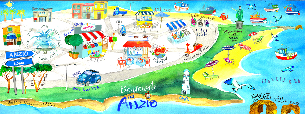 Anzio Italy The Roman Riviera by Beatrice Capomaggi Amin They