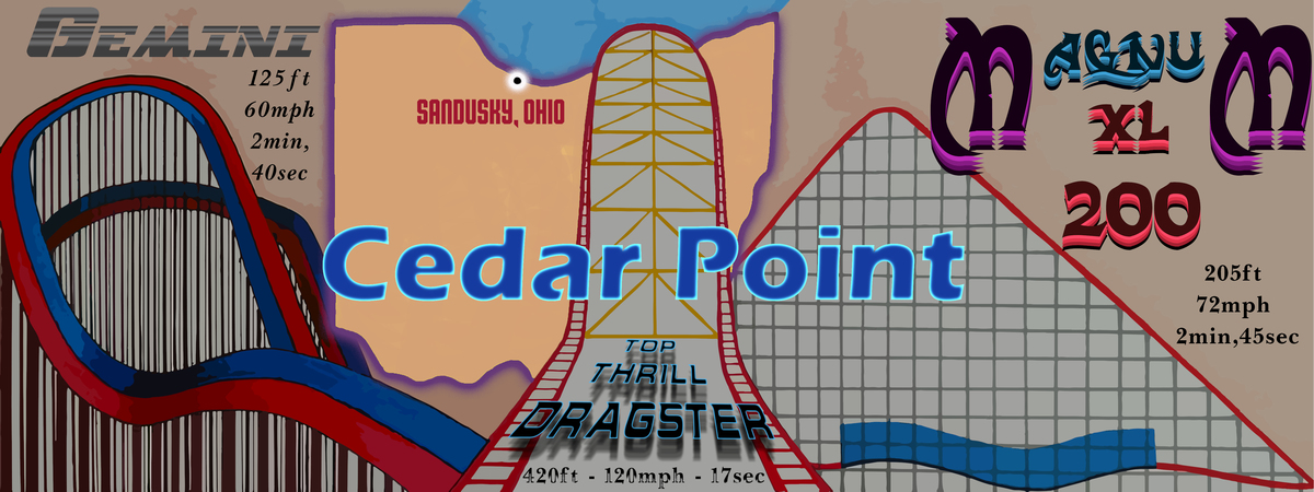 Cedar point   changed color
