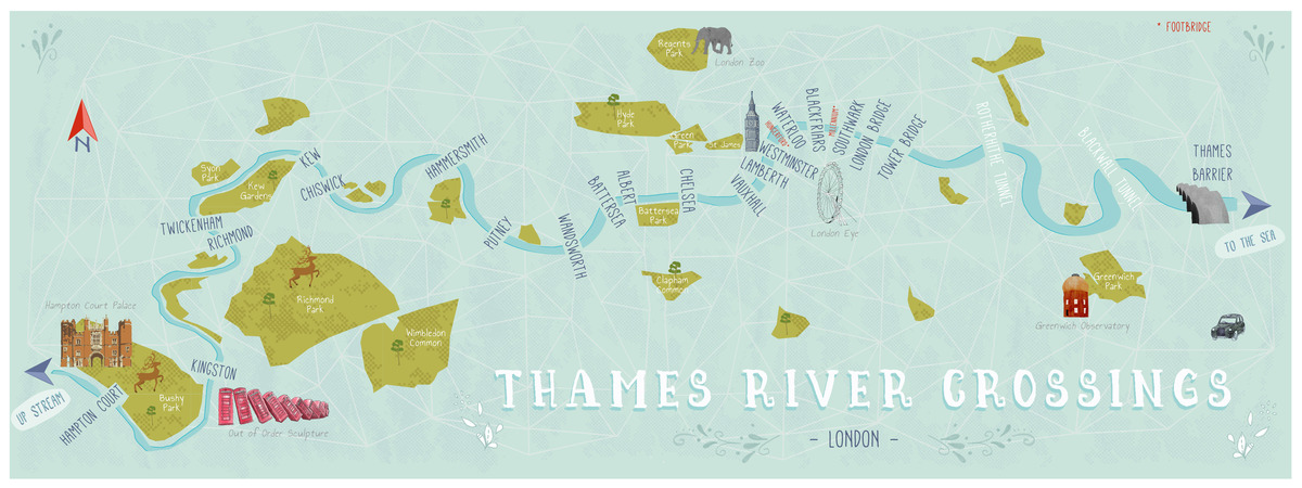 Emma bryan thames river crossings