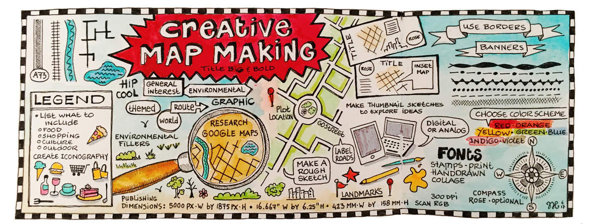 creative map making by nicole hinrichs