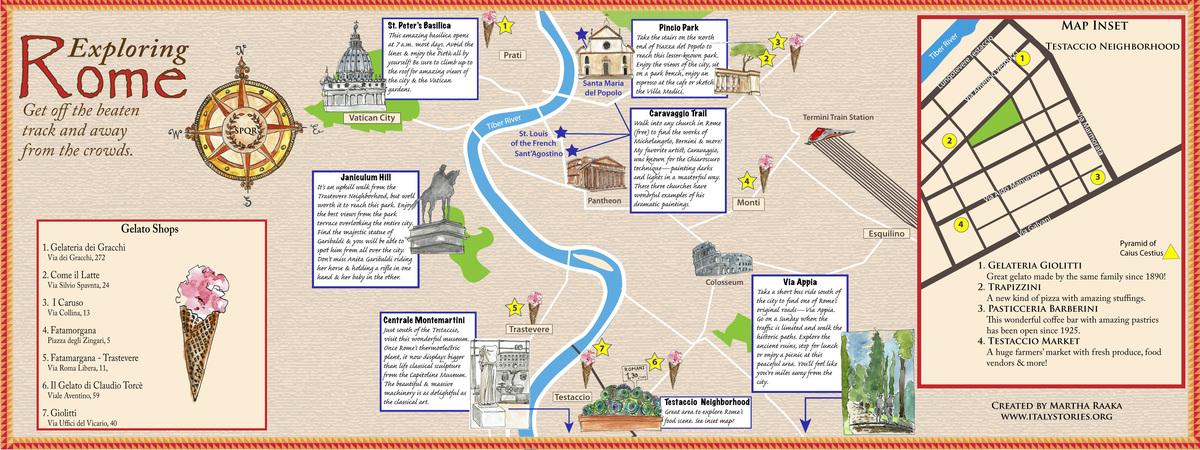Romemap