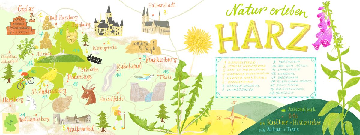 Harz karte