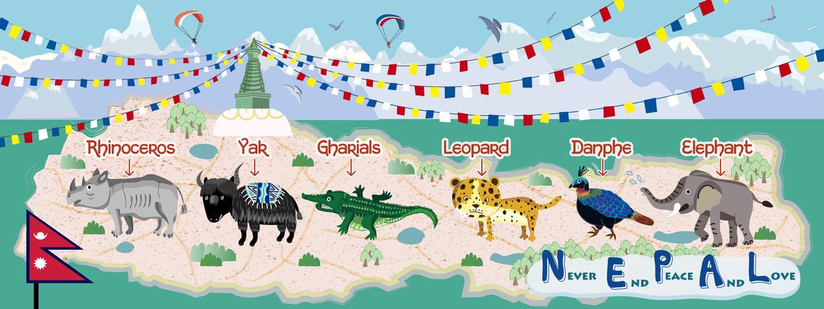 Nepal map 01