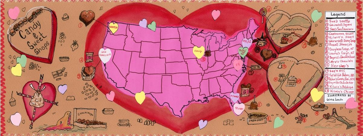 Valentine map