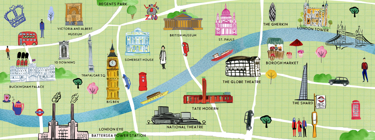 London map tadt 2