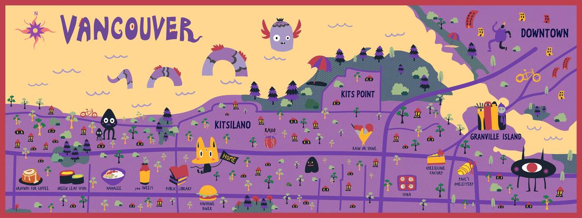 Map web