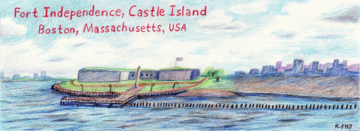 Fort independence castle island boston  ma