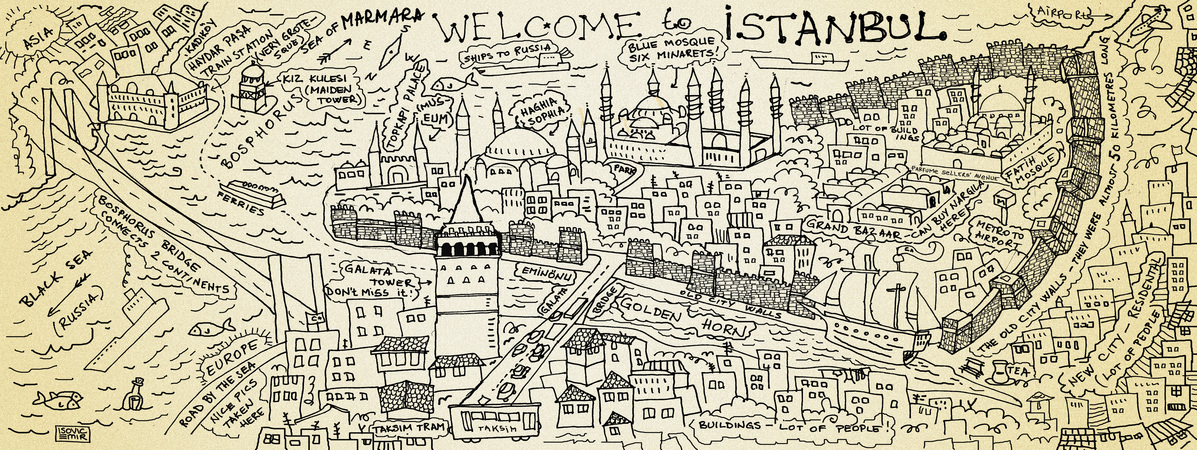 They draw and travel istanbul copy