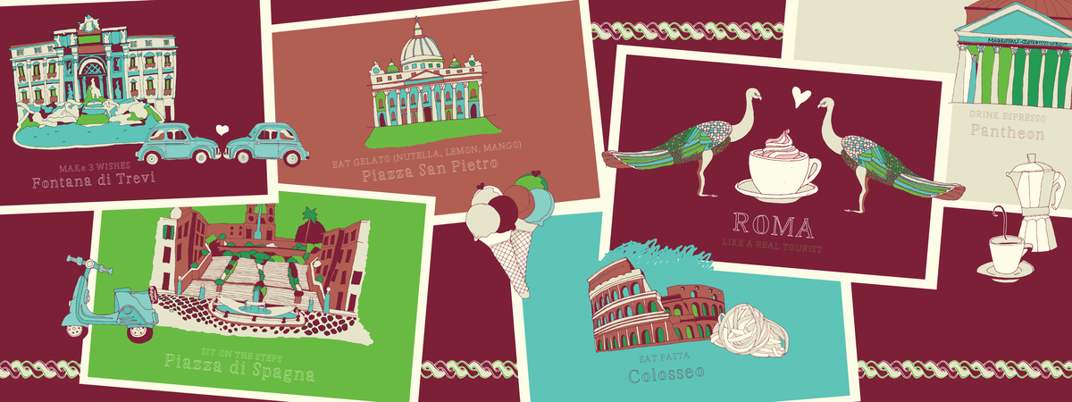 Rome theydrawandtravel