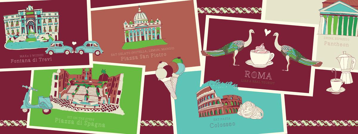 Rome theydrawandtravel