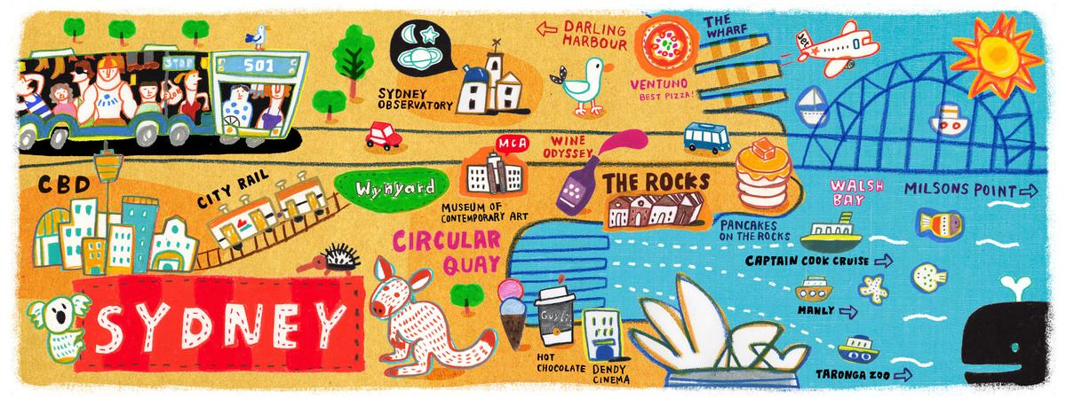 Sydneymap