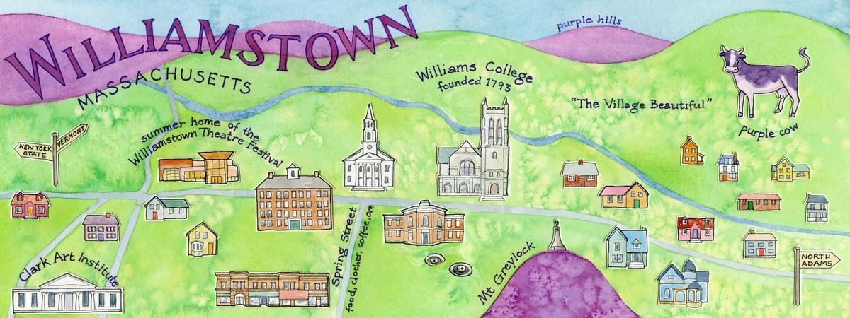 Kolesar wtown map