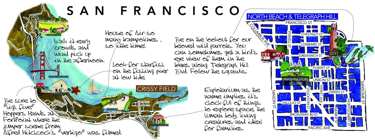 San Francisco California by Gaby Florez Estrada