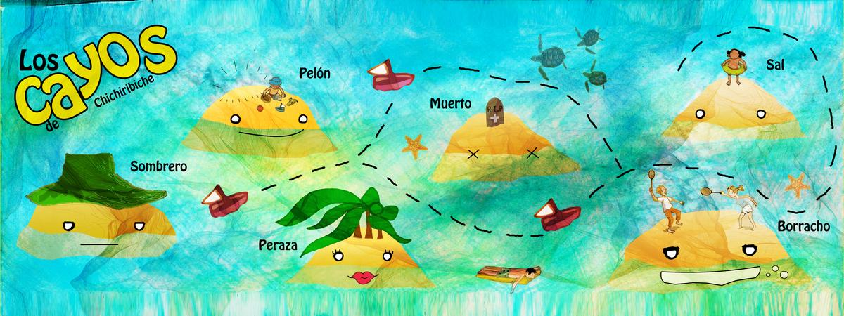 Ilustracion los cayos gabriella torres