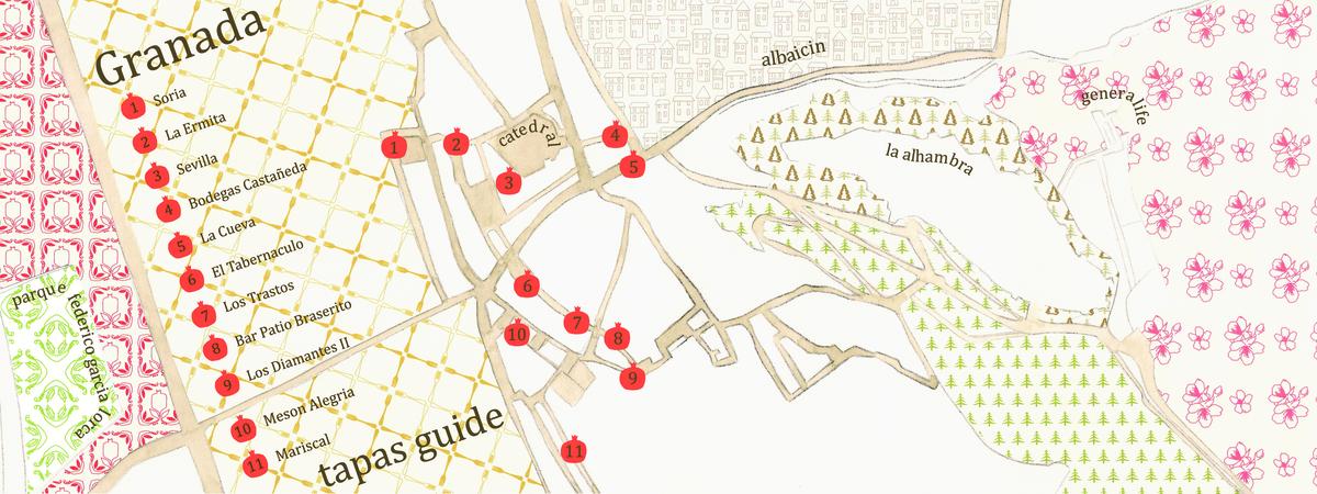 Mapa granada tdat