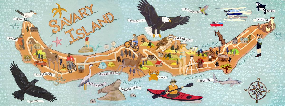 Jessica gordon savary island