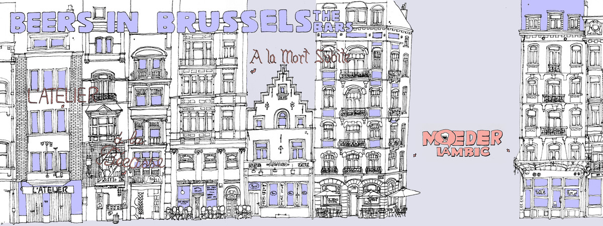 Draw travel brussels beers