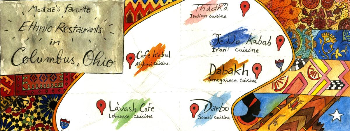 Moatazs Favorite Ethnic Restaurants in Columbus Ohio by Moataz