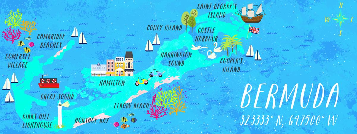 Bermuda by Joy Laforme - They Draw & Travel