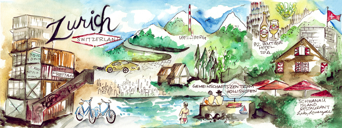 Zurich map
