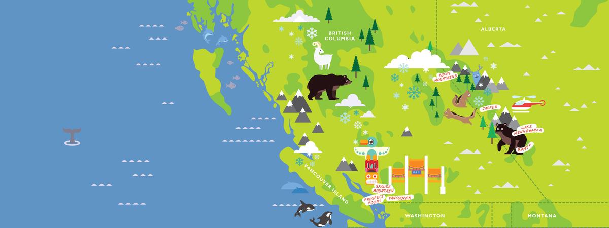 Canada map michellehird