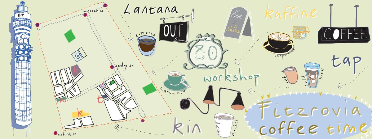 Jessieg fitzrovia london  coffee time map