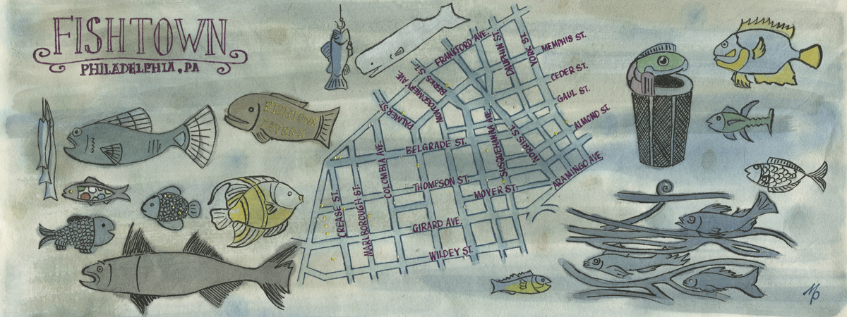 Fishtown map
