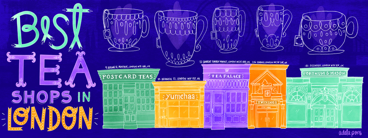 Tea shops london map adela pons