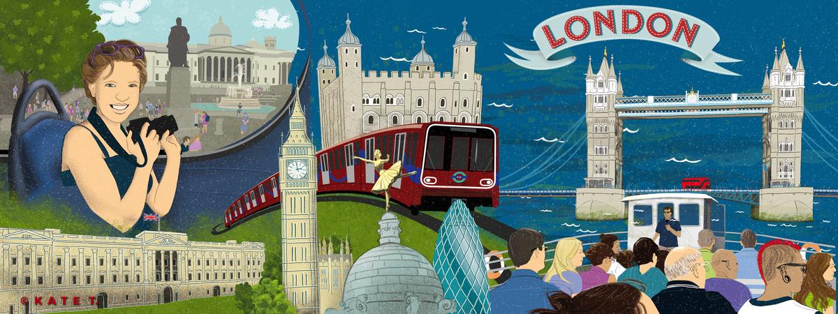 Kate t tdat london trafalgarsquare towerbridge