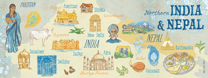 India nepal layout 01
