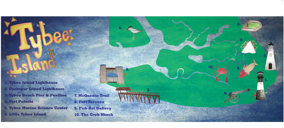 Tybee island map final